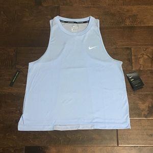 Women's Nike Dry Miler Running Tank, Sz L NWT